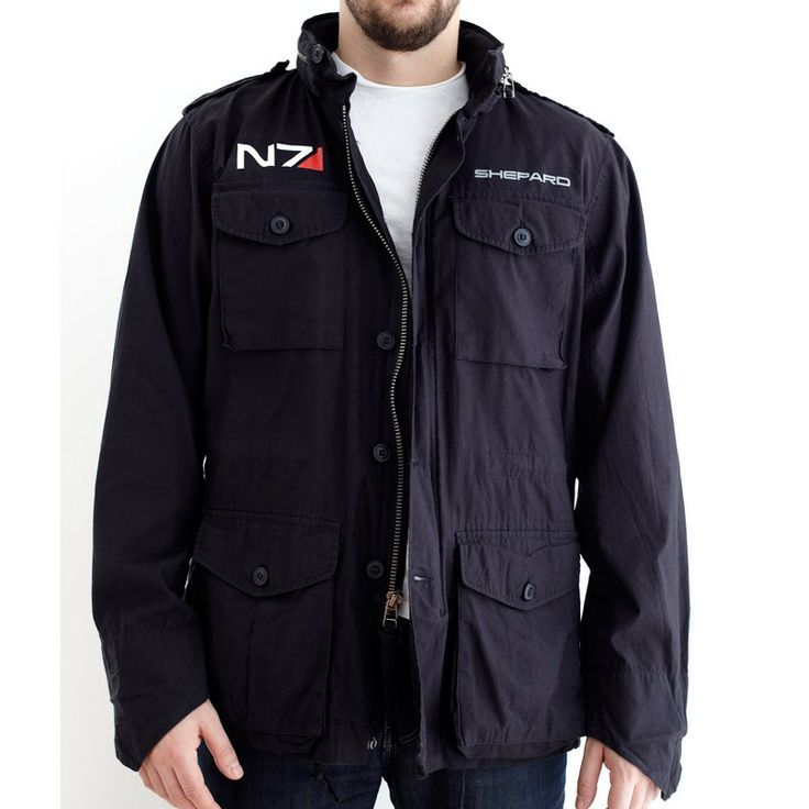 The vintage Mass Effect jacket's back in stock - I so want this. =)