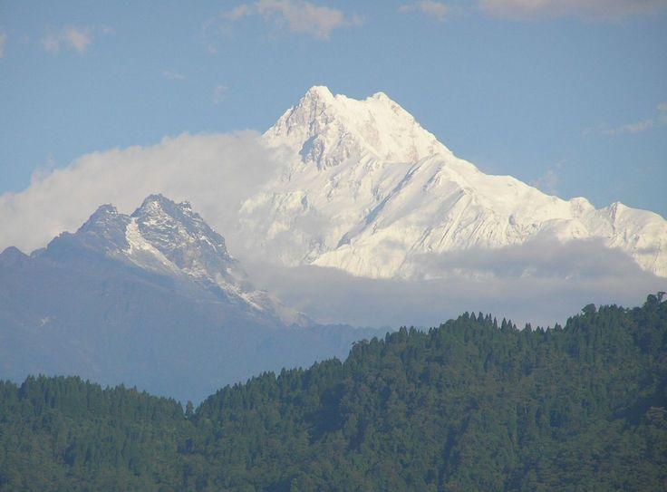 Kangchendzönga, 8586 Meter (28,169 ft.), Himalaya, Indien