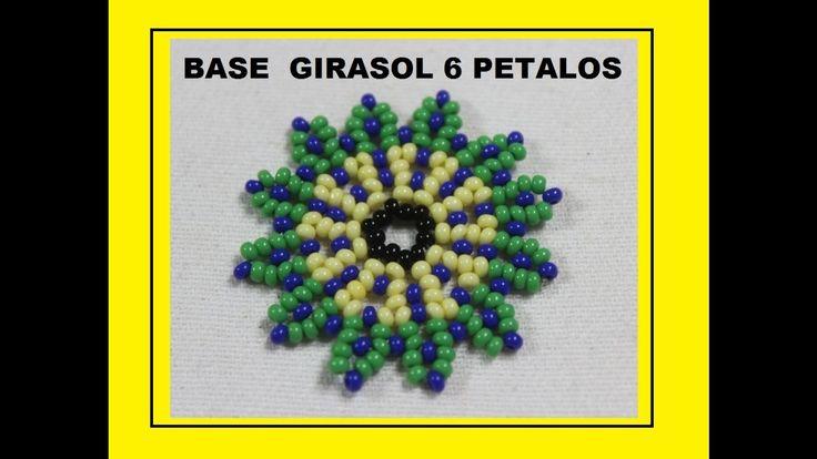 GIRASOL EN MOSTACILLA 6 PETALOS