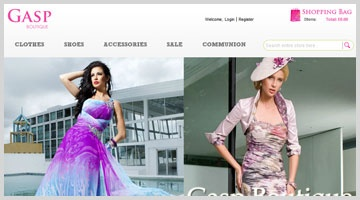 Gasp Boutique offers an extensive range of Formal and Evening wear, Debutants Balls , Mother of the Bride and all social engagements.  http://www.octalsoftware.com/portfolio/portfolio-by-technology/magento-portfolio