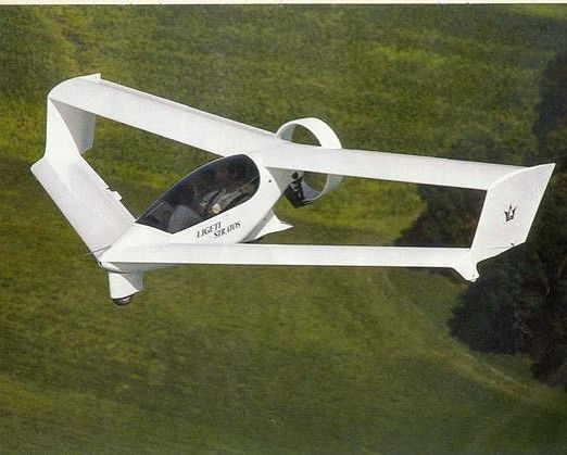Ligeti Stratos S51 ultralight aircraft
