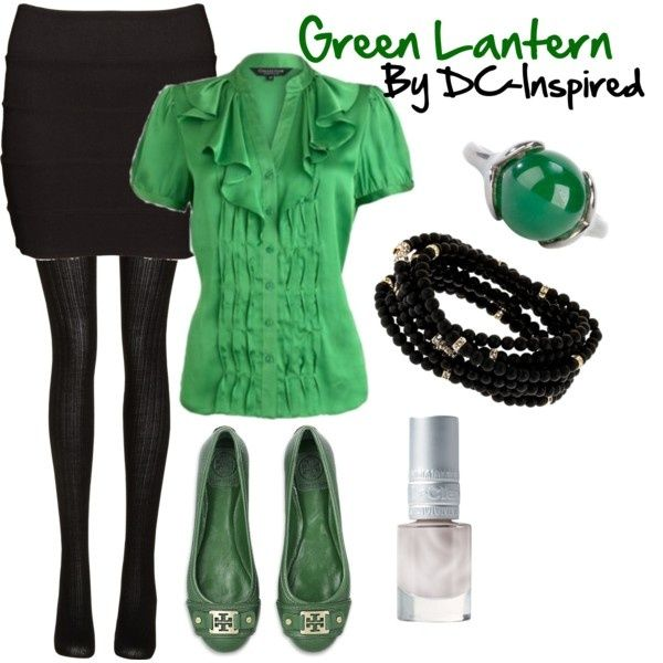 "polyvore green lantern | Green Lantern - Work"" by dc-fashion on Polyvore 
