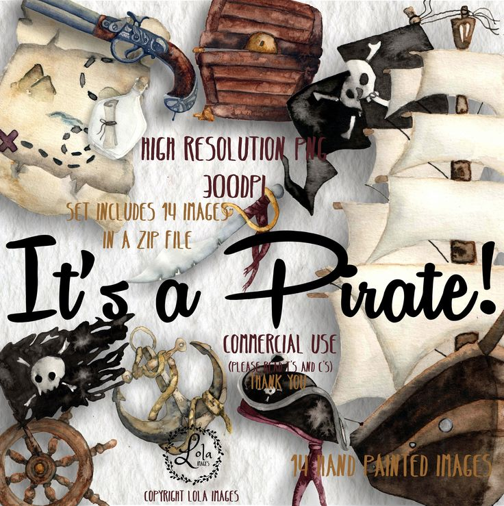 Excited to share the latest addition to my #etsy shop: It's a Pirate! Digital Clipart | Ship Treasure Buccaneer Sea Skull Anchor | Hand Painted Watercolor |Personal & Commercial Use | PNG Images https://etsy.me/2EJU8TY #art #drawing #watercolor #handpainted #illustrati