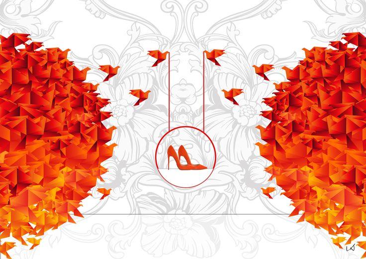 VNDesign, VNDesgin Digital Agency, window-display, fashion, design sells, cool design sells, art, high heels