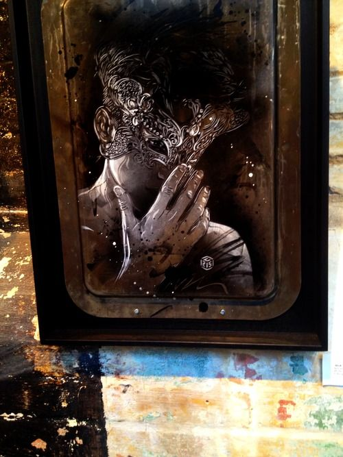 'Back to Black', Stolen Space gallery