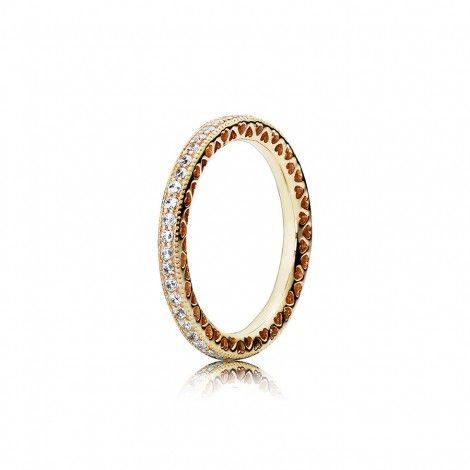 In de online sieradenwinkel koop je de mooiste Pandora sieraden.        Zo ook het sieraad Pandora Gouden Endless Hearts Ring 150181CZ.         Dit is een dames sieraad.        De kleur van dit sieraad is goud.        Alle Pandora sieraden worden gemaakt van de beste materialen.        Zo is dit sieraad gemaakt van goud, zirkonia.        De meeste sieraden zijn ook verkrijgbaar in sets.         Pandora ring geschikt voor iedere gelegenheid!                  Wij zijn officieel dea...