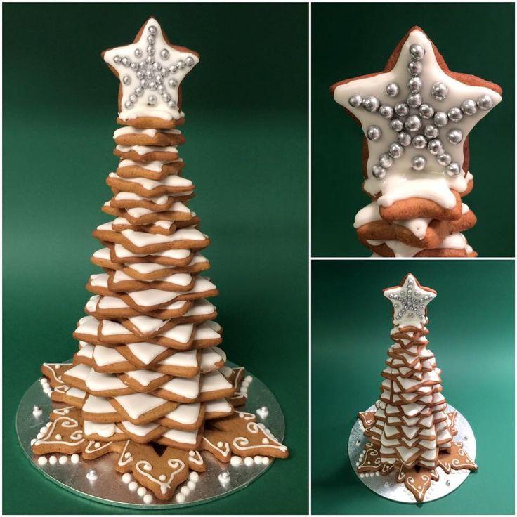 Cookie christmas tree kjeks juletre