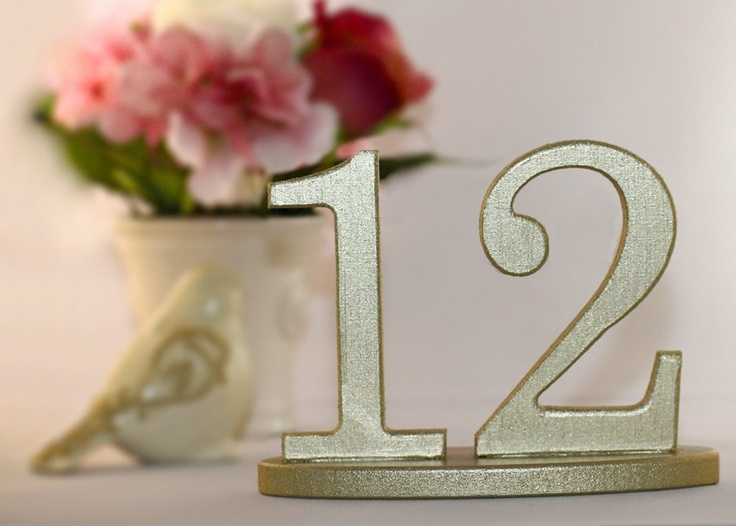 Wooden Table Numbers ~ Best gold table numbers ideas on pinterest wedding