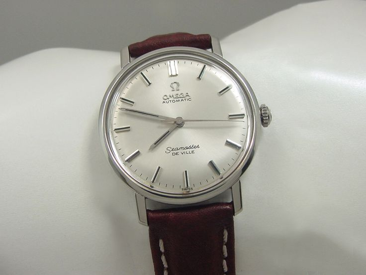 1966 OMEGA SEAMASTER DEVILLE AUTOMATIC MEN'S WATCH