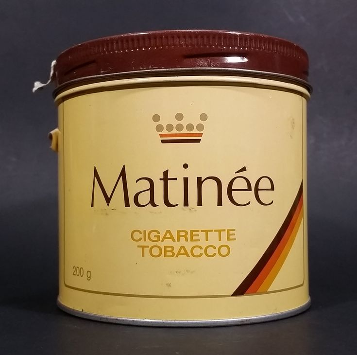 Vintage Early 1970s Matinee Cigarette Tobacco Tin Imperial Tobacco Bilingual https://treasurevalleyantiques.com/products/vintage-early-1970s-matinee-cigarette-tobacco-tin-imperial-tobacco-bilingual-quality-guaranteed-version-very-good-condition #Vintage #Early #1970s #70s #Seventies #Matinee #Cigarettes #Tobaccos #Tins #VintageTins #Imperial #Tobacciana #Collectibles #Bilingual #French #English #Canadian #Montreal #QC