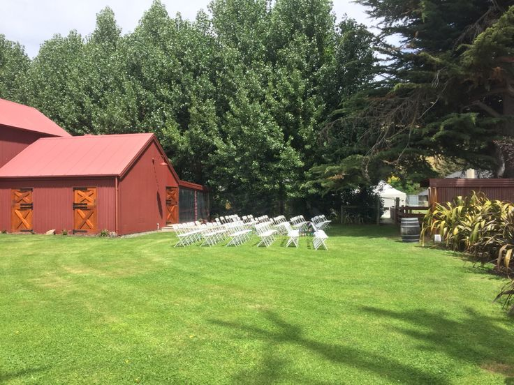 "One of the many spots within the stunning surrounds of the Valley of Peace Alpaca Stud where you can hold your ceremony. This position, due to a very hot day, was chosen by Rachael & George in a lovely late January wedding. Check it out on ""Valley of Peace Wedding & Events Venue"" on Facebook."