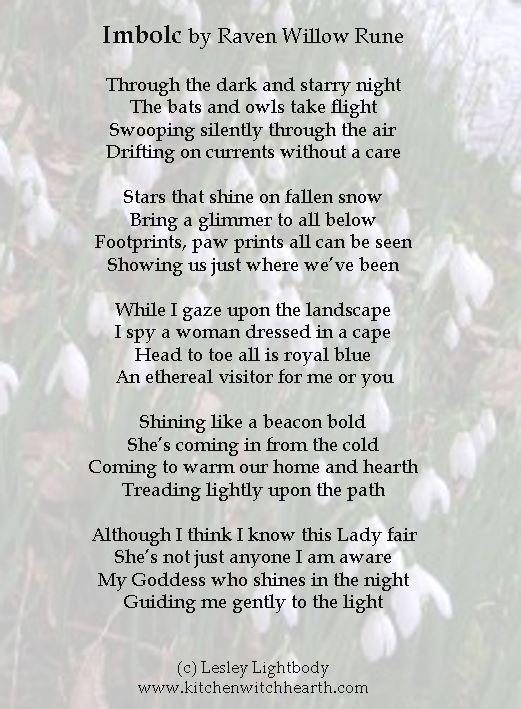 Imbolc poem