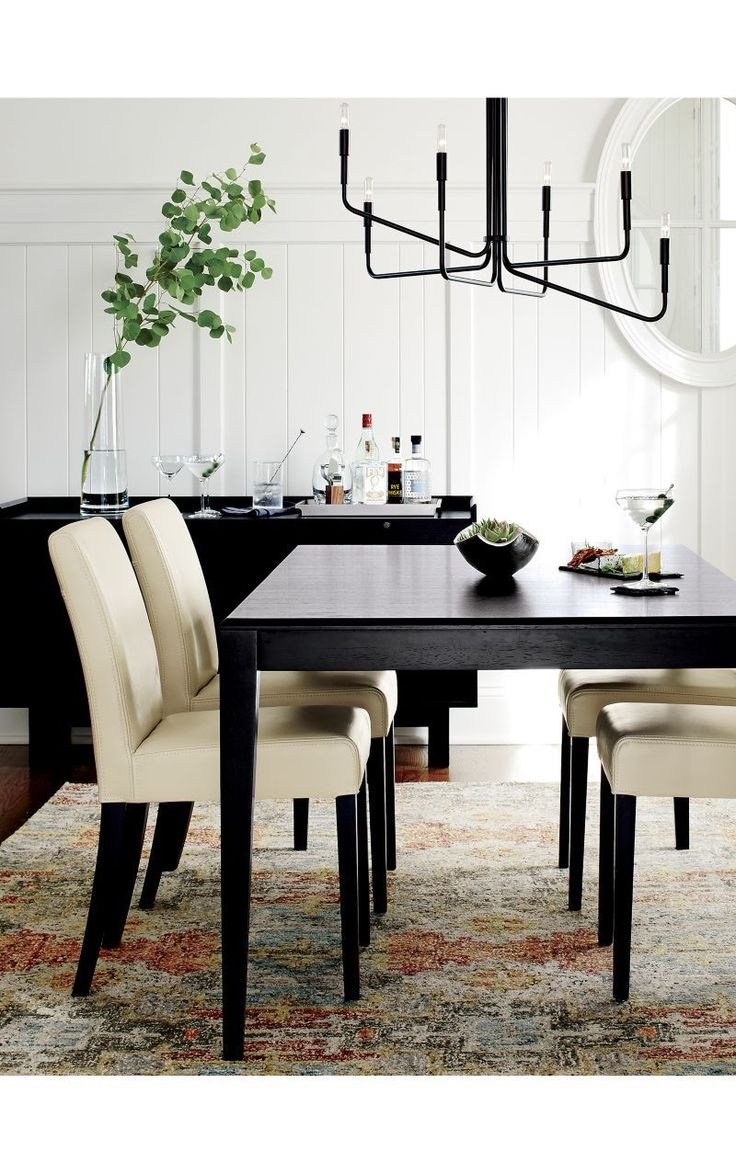Metra extension dining table crate and barrel - Facet Extension Dining Table