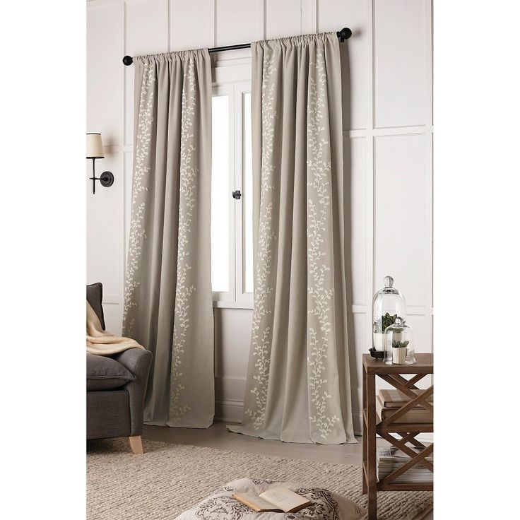 Triple Tap To Zoom Bedroom Pinterest Curtain Panels Vines And Light Blocking Curtains