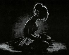 """Liam Dickinson Art on Twitter: """"More white pencil on black paper ..."""