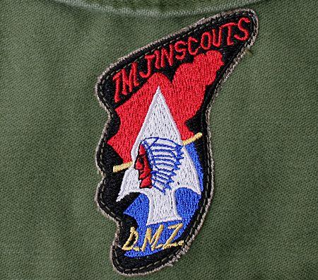 Imjin Scout Badge Worn On Bdus Right Brest Pocket Awarded