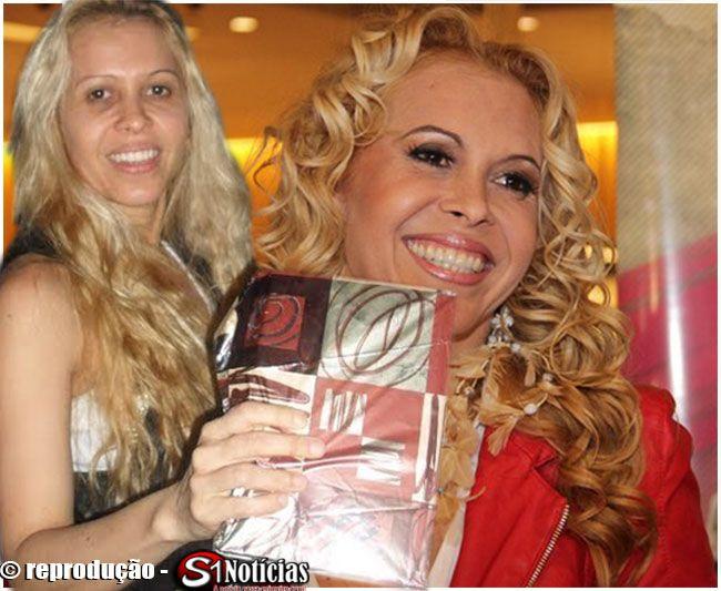 Fotos da cantora Joelma da Banda Calypso sem maquiagens surpreendentes | S1 Noticias