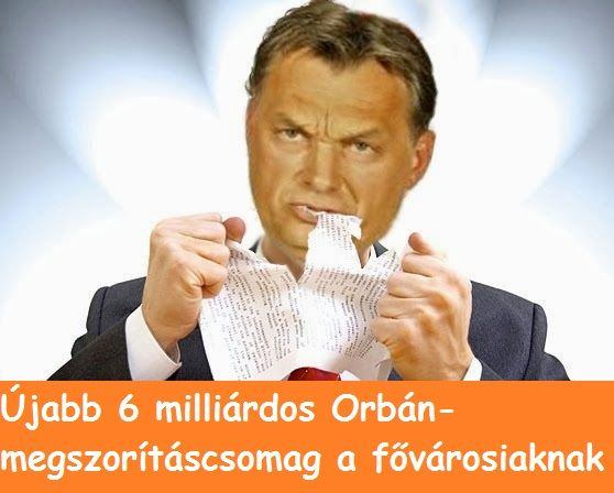 Jön Orbán újabb fővárosi megszorítócsomagja : nem várt eredményt hozott ugyanis a Tarlós-Lázár bokszgála. A meccsen ugyanis szétpofozták az eddig békésen szemlélődő nézőket: a főváros – kormány BKV finanszírozási csörtét úgy zárják le, hogy százmilliós nagyságrendű elvonásokkal (összesen kb. 6 milliárddal)...