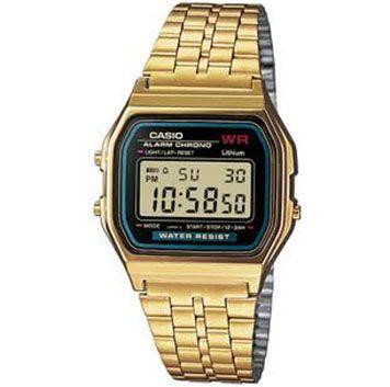 #reloj de #casio dorado ....