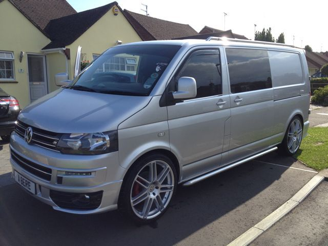 Team Silver VW T5 Sportline Facelift - VW T4 Forum - VW T5 Forum