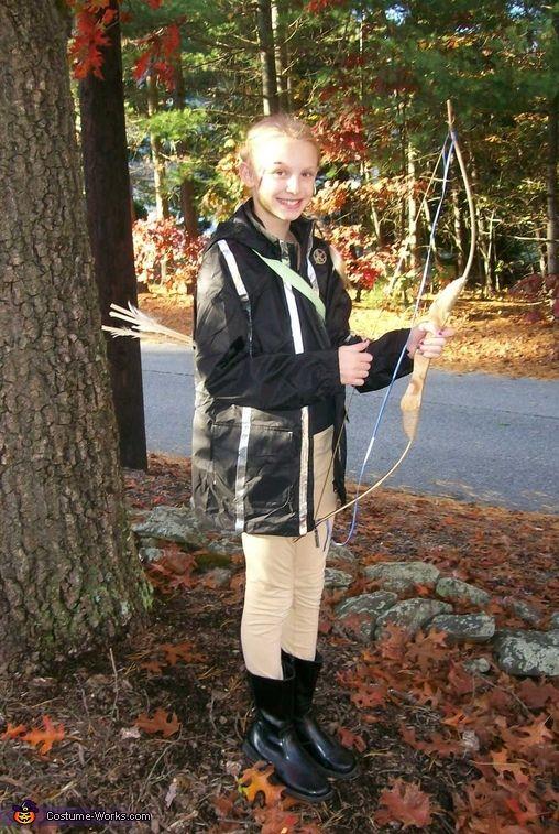 Katniss Everdeen - DIY Halloween Costume