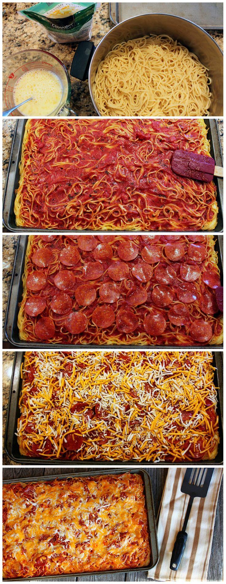 Spaghetti Pizza Review