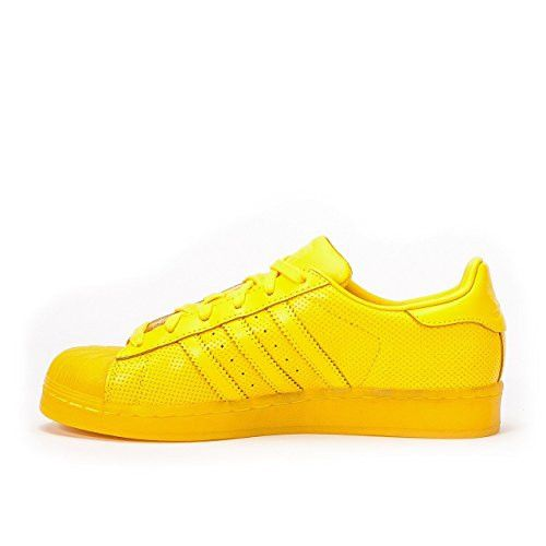 Adidas Superstar Adicolor EQT Shell Toe Trainers Size 11 (Yellow)