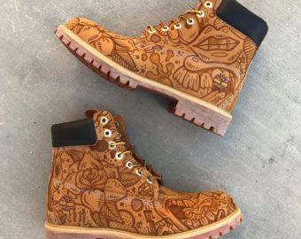 Inked Custom hand painted Jordan shoes by ArtOfTheSole on Etsy