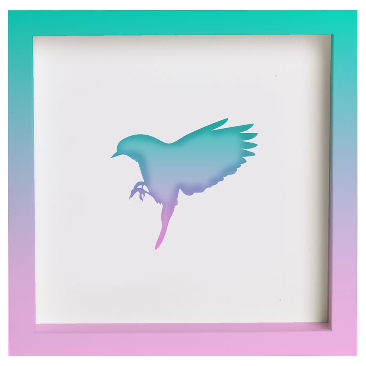 [#Habitanimal] Technicolor Bird $35.000 REF: HAD-014
