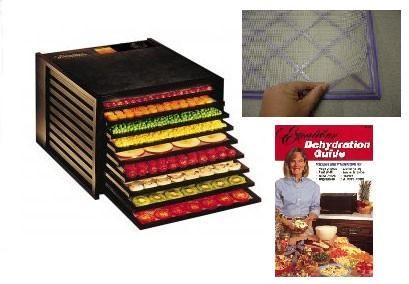 Excalibur 9 Tray Food Dehydrator - Black | Homesteader's Supply