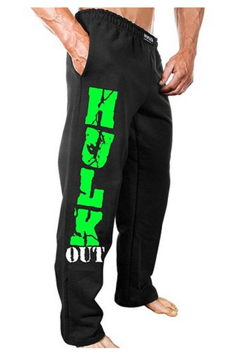 NEW Mens Workout MONSTA Hulk Out Sweatpants Bodybuilding Clothing Sweat Pants  #MONSTA #Pants