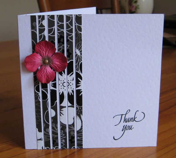 Cas141 Thank You By Susie Australia Cards And Paper Crafts At