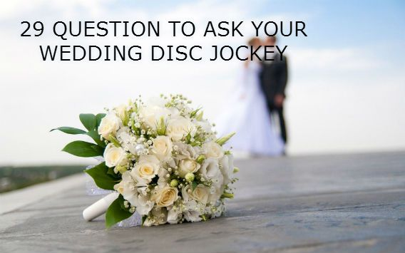 When booking your wedding entertainment it is a critically important decision. Review our recommended Top Questions to Ask your wedding disc jockey.