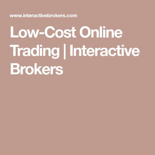 Low-Cost Online Trading | Interactive Brokers