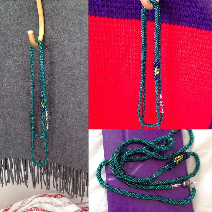 Gorgeous silver lined turquoise 011 seed beads. My new favourite crochet rope. Peacock inspires slide bead is 08 seed bead peyote