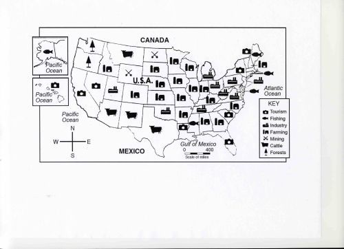 usa natural resources map - Google Search | Economics Lessons ...