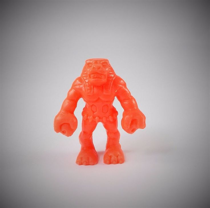 Monster in my Pocket - Series 1 - 15 Karnak - Neon Red NR - MIMP - MEG
