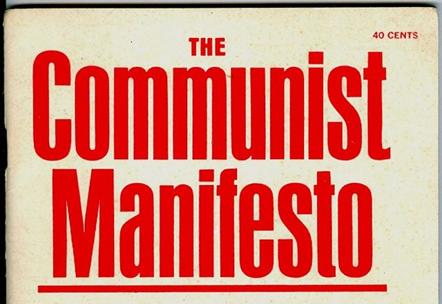 The Socialist » The Communist Manifesto Today