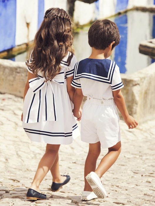 I don't usually pin kids stuff but these outfits are so cute and classy! I will dress my kids like this :)