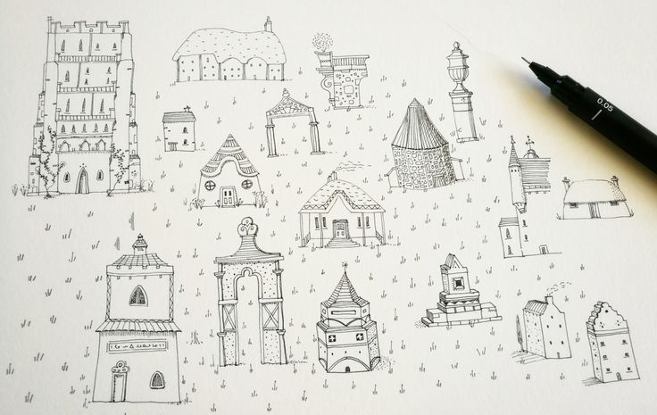Architectural doodles x