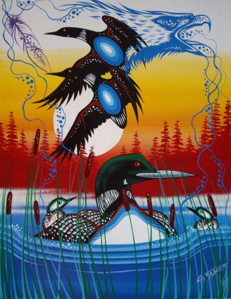 Carolyn Beach - Native Art Display - Image Upload