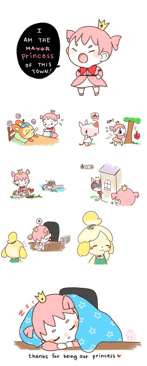 This is so cute because this is so true. Everyone of us acnl players are speical