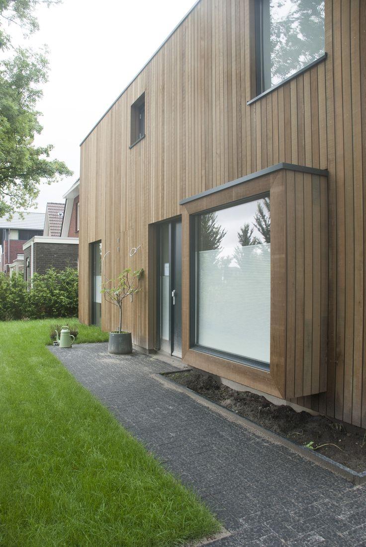 Entreegevel schuurwoning Westerbreedte architecten