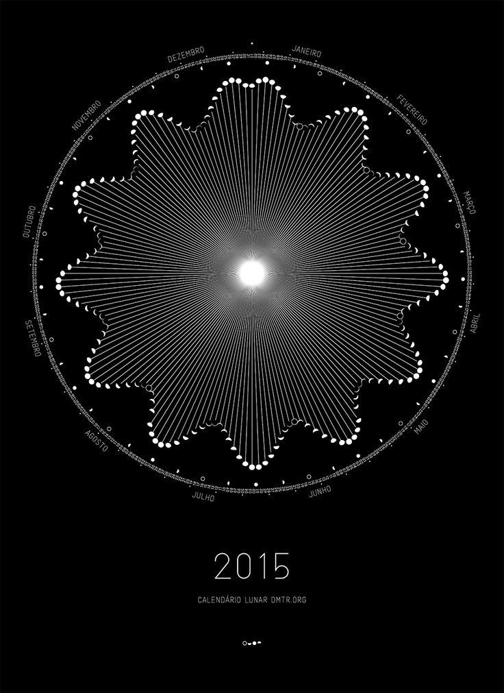 Dimitre Lima ⚡ Dmtr.org / Lunar Calendar 2015 - Now Shipping