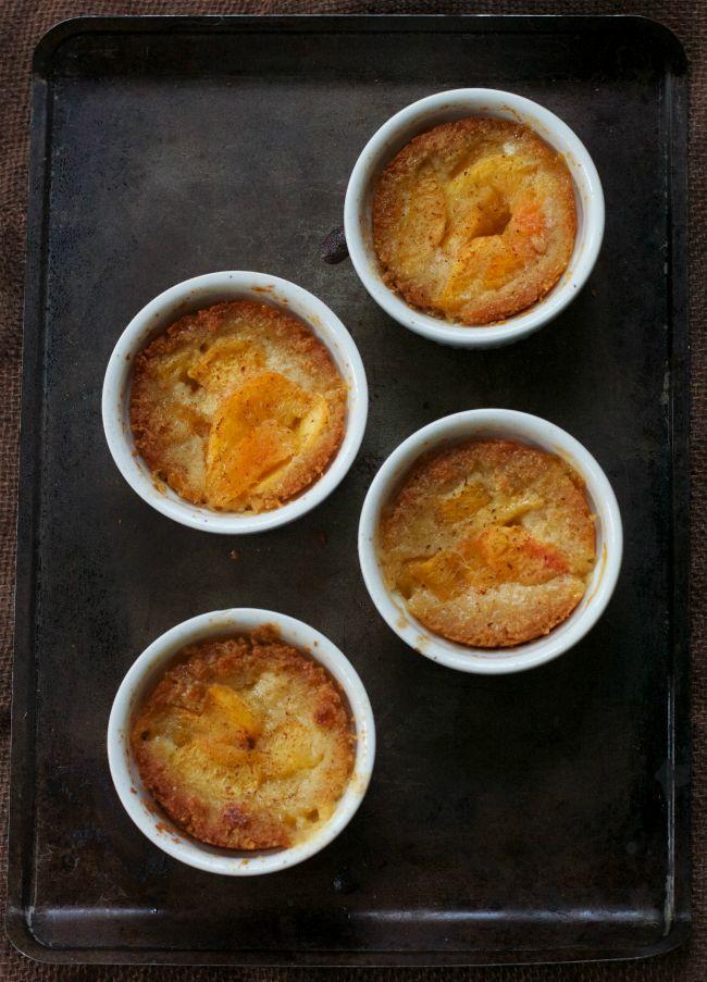 Grain-Free Peach Cobbler (Paleo, GAPS) : Oven Love
