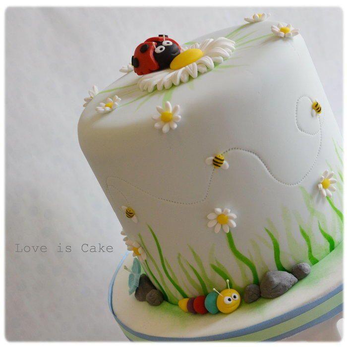 Springtime cake - Cake by Helen Geraghty