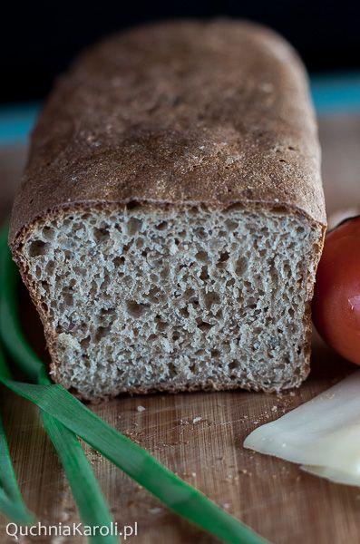 Chleb na zakwasie. Orkiszowy ~ QuchniaKaroli