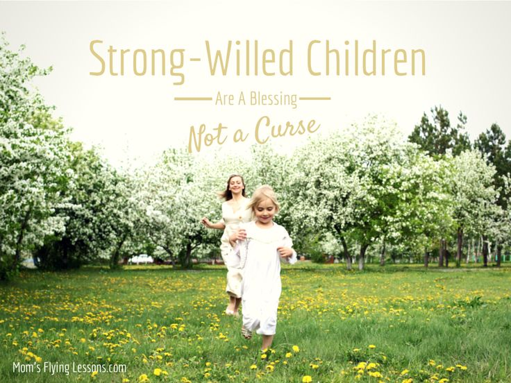 Strong Willed Children Are a Blessing, Not a Curse  Seriously...people that don't have strong-willed kids just don't understand. At all. This is a great reminder.