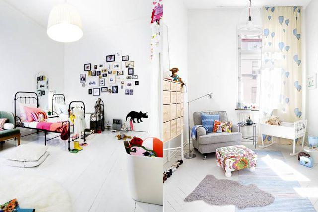 17 mejores im genes sobre habitaciones infantiles en - Habitaciones estilo nordico ...