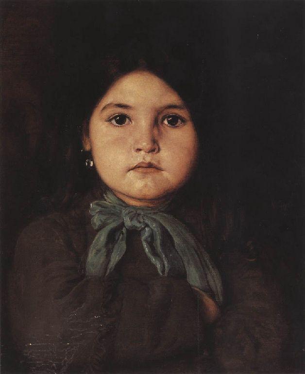 .:. Γύζης Νικόλαος – Gyzis Nikolaos [1842-1901] Κοριτσάκι 5